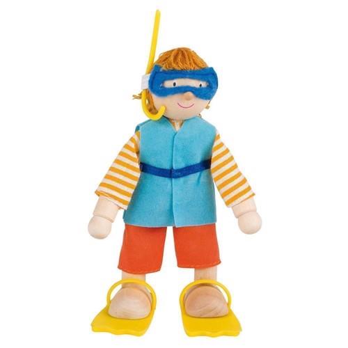 Image of   Dukkehus dukke, dykker