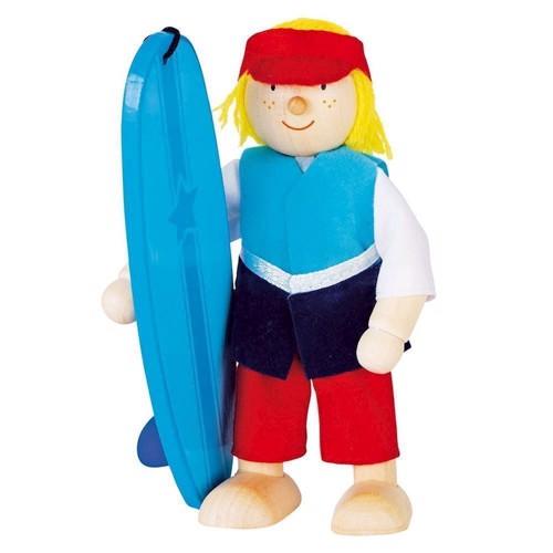 Image of   Dukkehus dukke, surfer