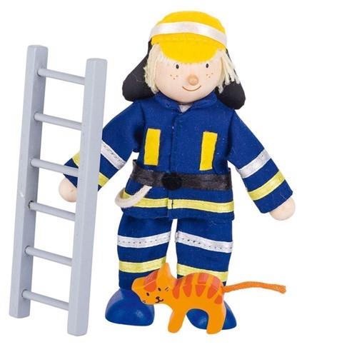 Image of   Dukkehus dukke, brandmand