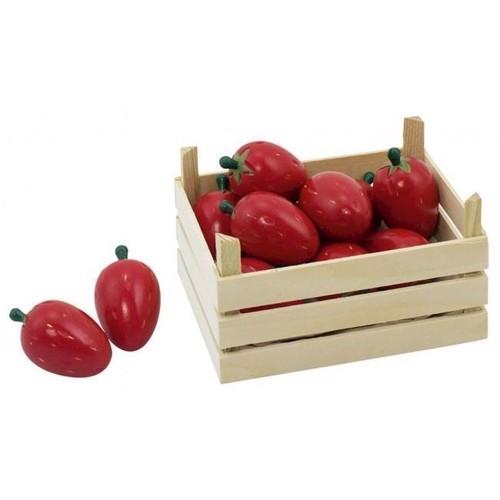 Image of   Legemad, jordbær i kasse 10 dele
