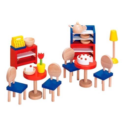 Image of   Resteaurant hospital møbler til dukkehus