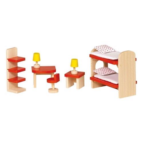 Image of   Børneværelses møbler til dukkehus