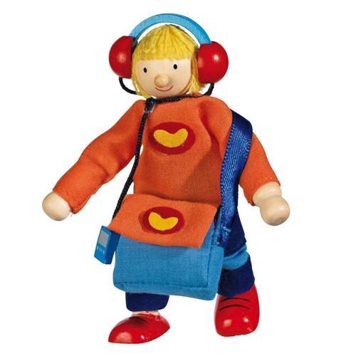 Image of   Dukke til dukkehus, dreng