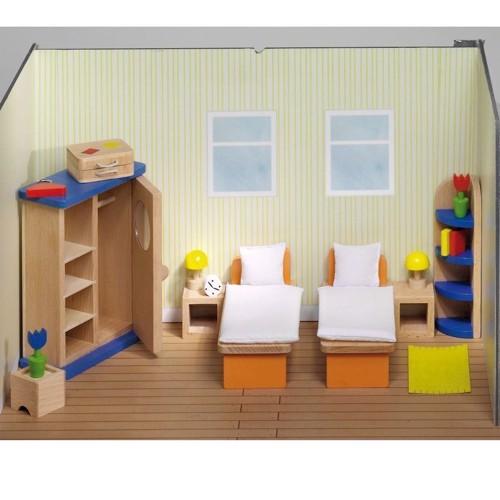 Image of   Soveværelse til dukkehus