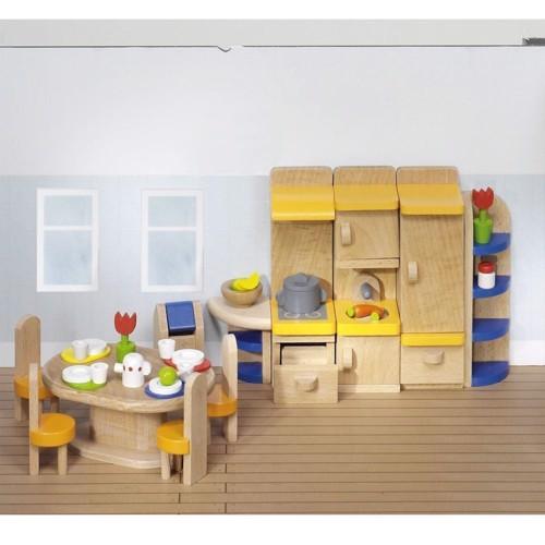 Image of   Køkken til dukkehus