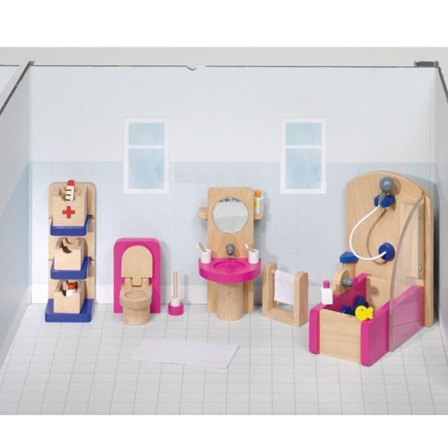 Image of   Badeværelse til dukkehus
