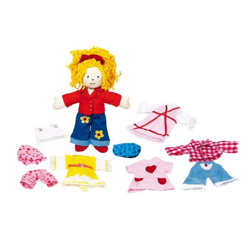Image of   Påklædningsdukke, pige