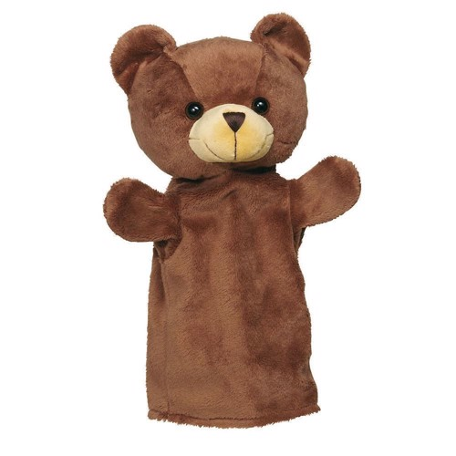 Image of   Dukketeater, Hånddukke, hest, vaskebjørn, ræv eller bjørn