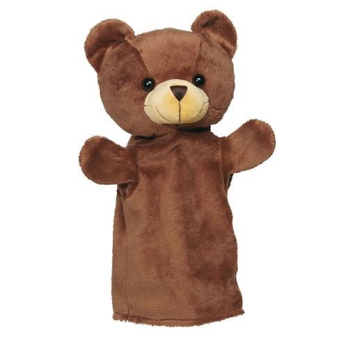 Dukketeater, Hånddukke, hest, vaskebjørn, ræv eller bjørn