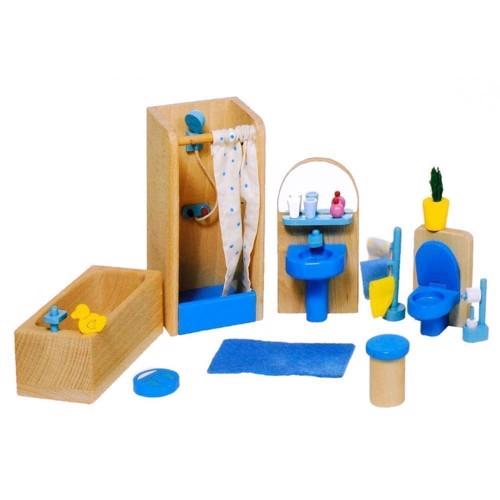 Image of   Badeværelses møbler til dukkehus