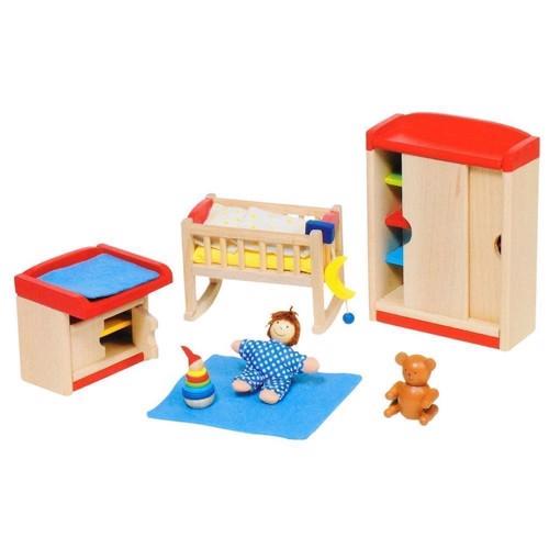 Image of   Dukkehus møbler, børneværelse