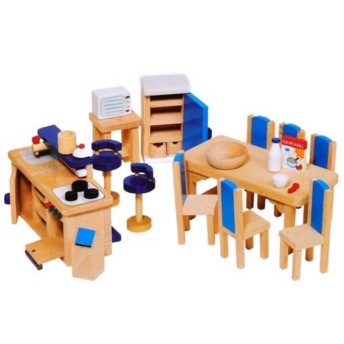 Image of   Køkken møbler til dukkehus