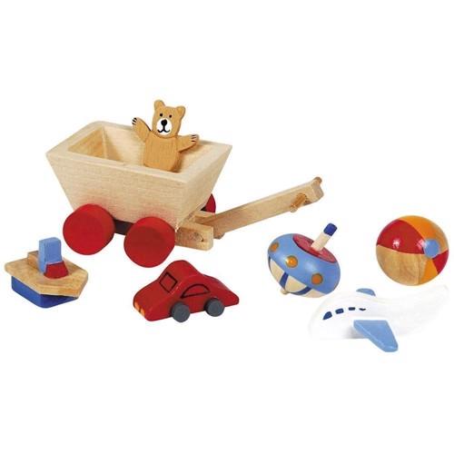 Image of   Børneværelses tilbehør til dukkehus