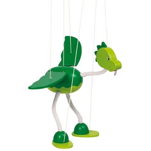 Image of   Dukketeater, Marionet dukke, dinosaur