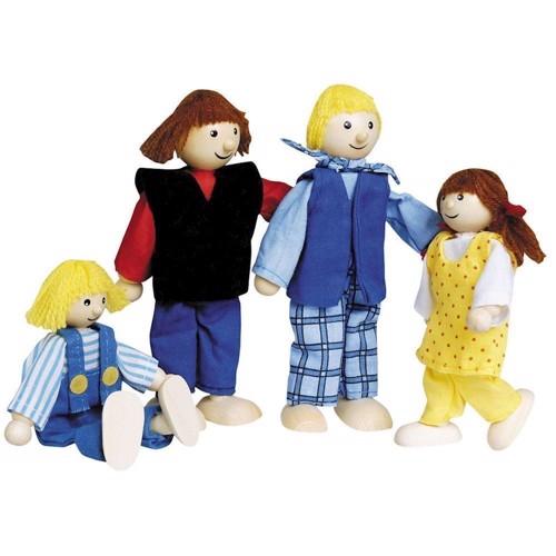 Image of   Familie til dukkehus