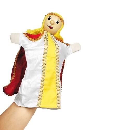 Image of   Dukketeater, Hånddukke, dronning