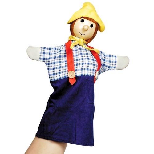 Image of   Dukketeater, Hånddukke, bondemand