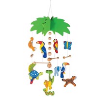 Wooden Mobile Palm Tree
