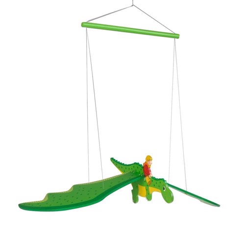Image of Wooden Swing Figure Dragon