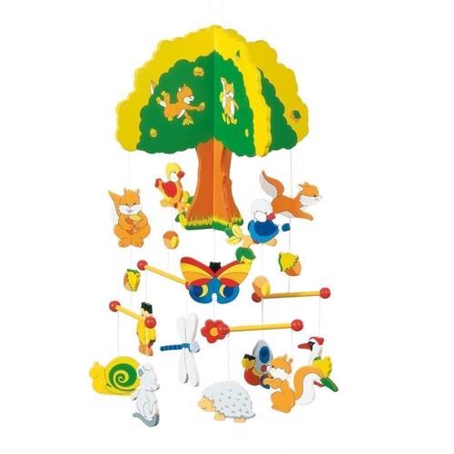 Image of Uro i træ meds skovdyr (4013594529839)