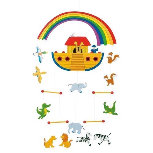 Image of Uro i træ med noas ark (4013594529877)