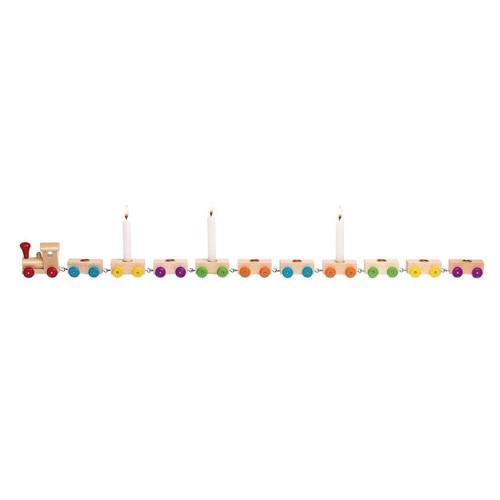 Image of Fødselsdagstog i træ 75 cm