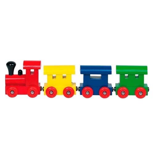 Image of Farvet tog med magneter