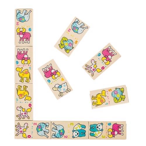 Image of   Susibelle Domino med dyr