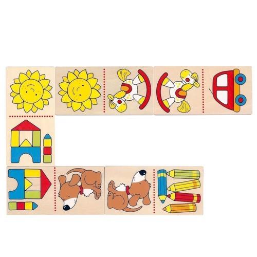 Image of Mit første domino i træ (4013594566964)