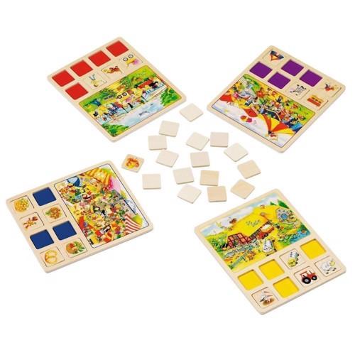 Image of   Bingo i træ