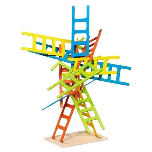Image of   Balancespil med stiger i træ