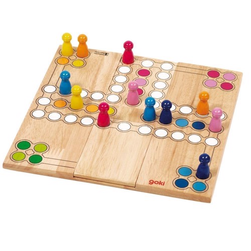 Image of Wooden Ludo Game-Variable (4013594569149)
