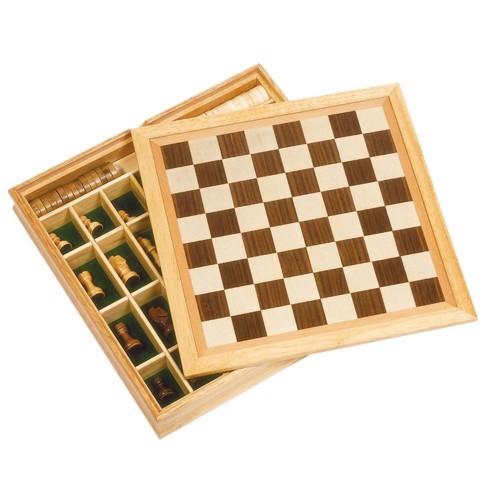Image of   3 I 1 Spilsæt I Træ