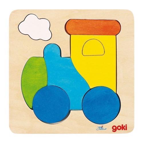 Image of   Puslespil med tog