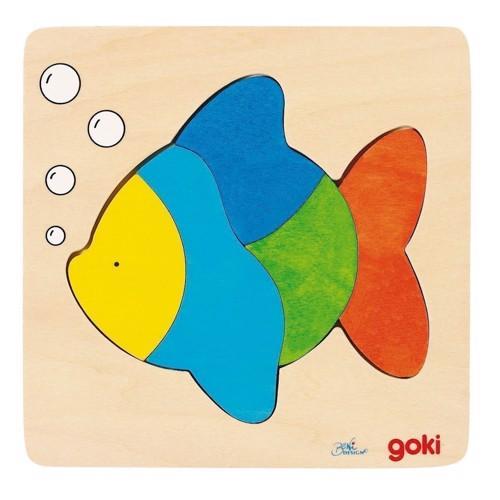 Image of   Puslespil med fisk