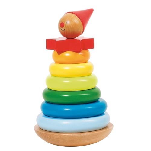 Stabel tårn med klovn 8 dele