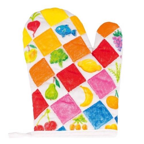 Image of Farvelæg din egen ovn handske