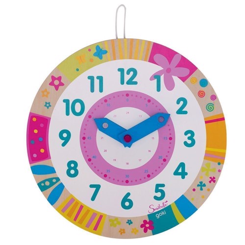 Image of Watch Susibelle Leather Clock (4013594585514)