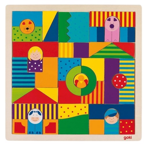 Image of Wooden Farm puzzle, 43dlg.