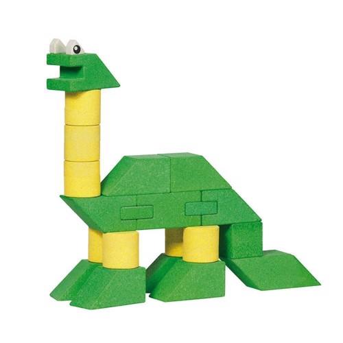 Image of Byggeklodser, dinosaur 23 dele (4013594588164)