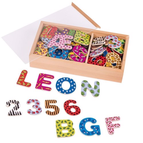 Image of Magnetiske tal og bogstaver 88 dele (4013594589116)