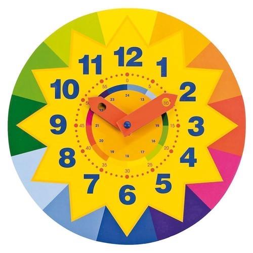 Image of   Sol, lær klokken