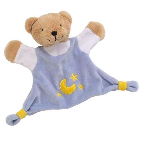 Image of   Kramme bjørne bamse, blå