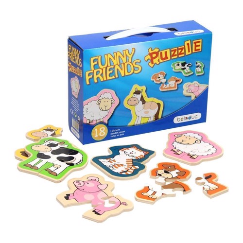 Image of   Beleduc Funny Friends Puzzle