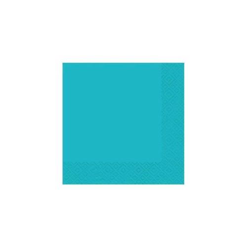 Image of   20 napkins 33x33 turquoise