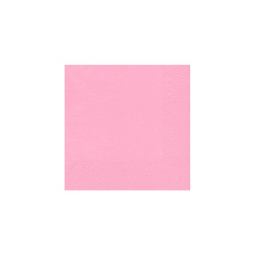 Image of   20 napkins 33x33 rose
