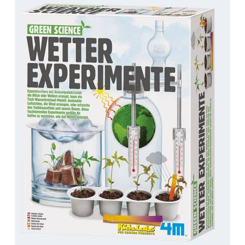 Image of   Green Science weather experiments