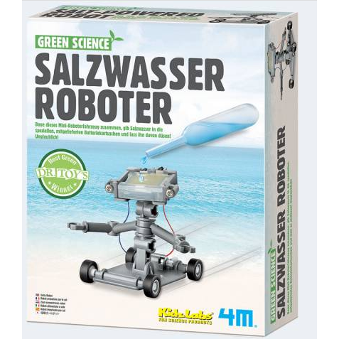 Image of   Green Science Saltwater Robot