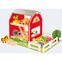 Farm with animals 49 T wood
