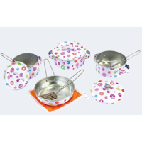 Cook pot set 11 parts Emaile
